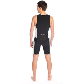 Dare2Tri Frontzip Trisuit Men black-white